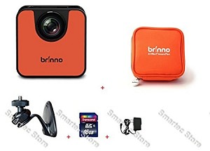 Brinno WiFi HDR Time Lapse Camera TLC120 + ATP100 + AWM100 + 16GB + Wall Power Supply