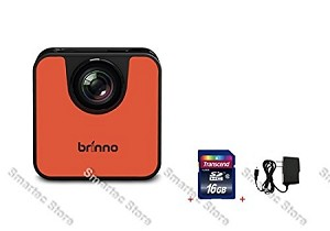 Brinno WiFi HDR Time Lapse Camera TLC120 + 16GB + Wall Power Supply
