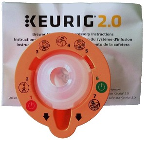 Keurig 2.0 Brewer Top Needle Cleaning Maintenance Accessory