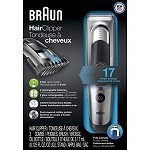 Braun Hair Clipper HC5090 – Ultimate hair grooming experience from Braun in 17 lengths