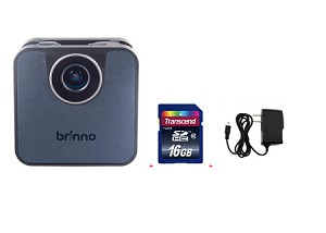 Brinno WiFi HDR Time Lapse Camera TLC120A-BK + 16GB + Wall Power Supply