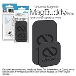 NAZTECH MAGBUDDY CARDS/PLATES -BLACK