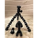 Smartec Flexible Spider Tripod for Brinno Cameras, Smartphones, and GOPRO
