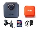 Brinno WiFi HDR Time Lapse Camera TLC120A-BK + ATP100 + AWM100 + 16GB + Wall Power Supply