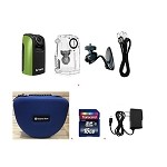 Brinno Construction Time Lapse Camera Bundle BCC100 + Smartec Camera Bag + 16GB SD + Wall Power Supply